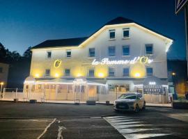La Pomme d'Or, hotel near La Planche des Belles Filles Ski School, Ronchamp