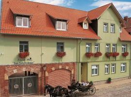 Hotel Alter Kutschenbauer, hotel in Wernigerode