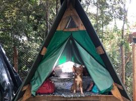 Recanto da Filó Serra do Cipó, luxury tent in Serra do Cipo