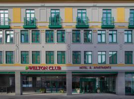 Welton Сlub Hotel & Apartments, hotel in Saint Petersburg
