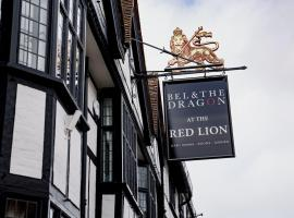 Bel and The Dragon at Red Lion Wendover, hotel in Wendover