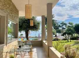 Aroma Beach Hotel Bungalows: Limenas'ta bir otel