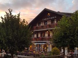 Hotel Le Christiania, hôtel aux Contamines-Montjoie