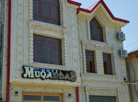 Hotel Muqaddas, hotel en Samarcanda