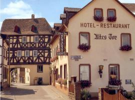 Altes Tor, Hotel in der Nähe von: Burg Eltz, Filsen