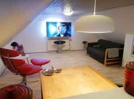 50 m2 loft close to Djurs Summerland and Ebeltoft, hotel i Ryomgård