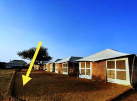 Desert Adventures Camps and Safari, luxury tent in Jaisalmer