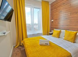 Yellow Apartments / Level Амурская, hotel in Moscow