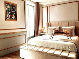 Da Vinci Apartment Paris Montmartre, hotel with jacuzzis in Paris
