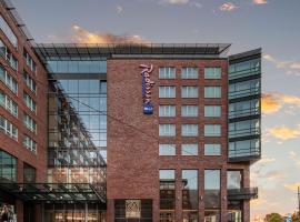 Radisson Blu Hotel Rostock, hotel in Rostock
