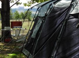 Camping Belle Vue, camping à Boisseuilh