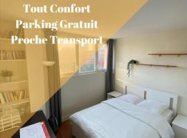 Chambre calme (Mars) - proche Paris et TGV, self catering accommodation in Massy