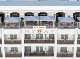 My Way Hotel & Events, hotel near Psila Alonia Square, Patra