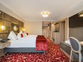 Hotel Norica - Thermenhotels Gastein mit dem Bademantel direkt in die Therme, Hotel in Bad Hofgastein