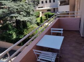studio centre ville avec parking, apartment in Sainte-Maxime