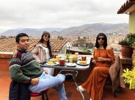 Eco Home View - Resbalosa, hotel in Cusco