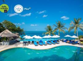 Coral Cliff Beach Resort Samui - SHA Plus, hotel i Chaweng Noi Beach