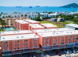 Hotel & Suites Santa Barbara, hotel in Manzanillo