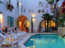 Mythos Suites Hotel, hotel in Rethymno