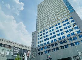 Skytop Hotel, hotel perto de Aeroporto Internacional de Incheon - ICN, Incheon