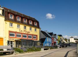 Hôtel & Restaurant de la Plage, hôtel à Crozon
