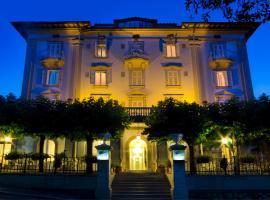Alexander Hotel Palme、キアンチャーノ・テルメのホテル