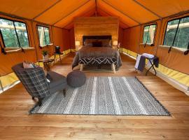 Naturluxe & Stars, luxury tent in Watkins Glen