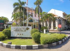 Country Heritage Hotel, hotel near Juanda International Airport - SUB, Ngindendjangkungan