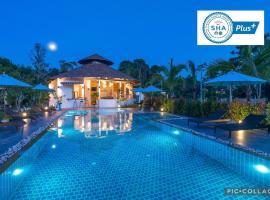 Aonang Eco Villa - SHA Plus, overnatningssted i Ao Nang Beach