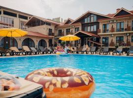 Абрикос Garden Hotel, budget hotel in Anapa