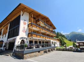 Hotel Cresta, hotel in Samnaun