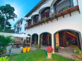VELINN Reserva Santa Teresa, guest house in Rio de Janeiro