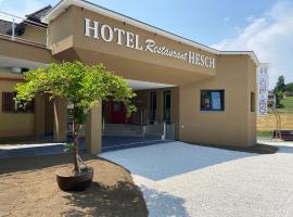 Hotel Restaurant Hesch, hotel in Gabersdorf