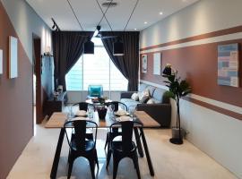 Comfort Service Apartment at Sky KLCC, apartment in Kuala Lumpur