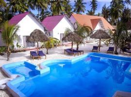 Heart of Zanzibar Bungalows, hotel in Paje