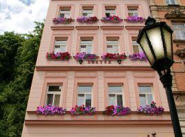 Hotel Boston, hotel poblíž Letiště Karlovy Vary - KLV,