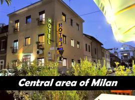 Hotel Dover, hotel near Villa Necchi Campiglio, Milan