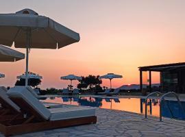 Tramonto Suites, hotel near Minies Beach, Xi
