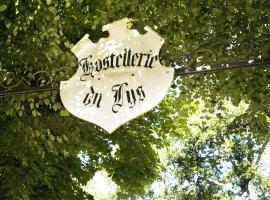 Hostellerie Du Lys、Lamorlayeのホテル