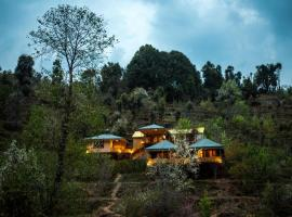 The Foliage by Greenescapes, luxury tent in Mukteswar