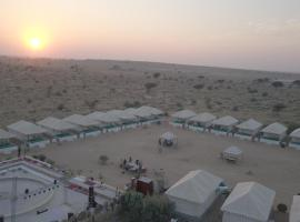 incredible desert camp & safari, luxury tent in Jaisalmer