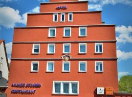 Hotel Ulmer Stuben, отель в Ульме