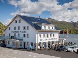 Hotel Grimsel Passhöhe, hotel in Oberwald