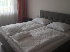 Ubytování v hotelovém pokoji, отель в Фримбурке