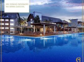 Golden Gramado Resort Laguetto, serviced apartment in Gramado