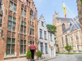 Hotel Het Gheestelic Hof, hotel in Bruges