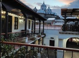 Hotel Lunavela - Casa San Sebastian, Hotel in Quetzaltenango