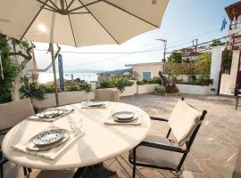 Aquarella-Fairytale Apartment with Sunset View, pet-friendly hotel in Poros
