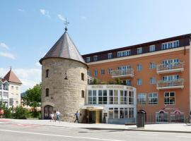 Hotel Goldene Rose, hotell i Bruneck