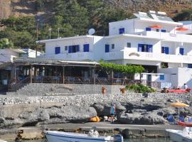 Paralia guest house, hotel near Samaria Gorge, Agia Roumeli